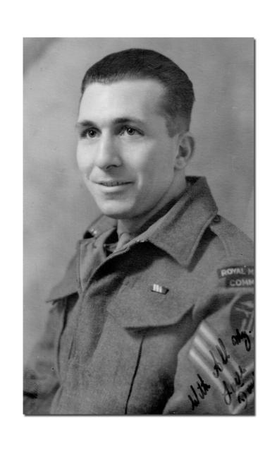 Sgt Richard Douglas French MM