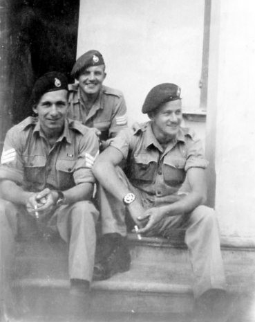 Sgt French  'A' troop (on left) and others