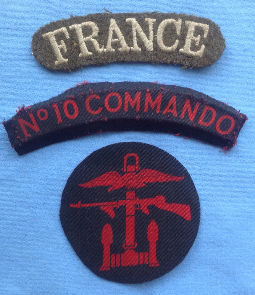 No 10(IA) Cdo France, 1 & * troops