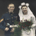 Sgt Alexander Pirie MM and his wife