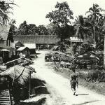 "OFP Sarawak 1965  -  ""Visiting"" Longhouse Village(a)."