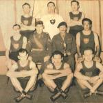 No 3 Coy., 10th Bn (TA) The Parachute Regt., Noble Inter Coy. Boxing Cup winners 1955/6 and 1956/7