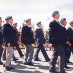 John Lowman on parade at Spean Bridge