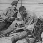 Returning from Alethangyaw, Burma, March 1944