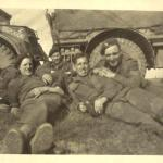 Charles Booth and others from 46RM Commando