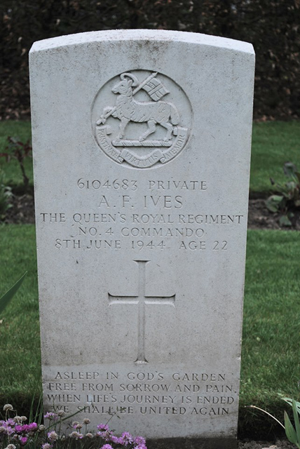 Private Albert Frank Ives