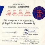 Cdo Certificate for CSM Phillips