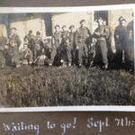 'Waiting to Go!' to return to the UK 7 September 1944