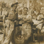 Robert Fowler (drivers seat) and others