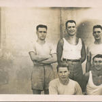 Robert Fowler (front left) and others at Gepruft Stalag 1VA R
