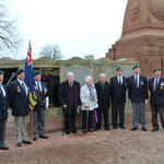 Service at the memorial (2)
