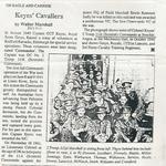 Keyes Cavaliers article - No.11 Commando 2 Troop.