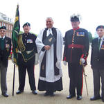 St George's Day Parade, Royal Hospital Chelsea, 2014.