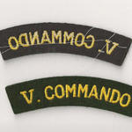 Cloth Shoulder flash 5 Commando WW2