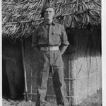 Sgt M Van Barneveld, India, 1944.