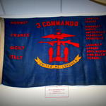 3 Commando Banner at the Oban War and Peace Museum Oban Scotland