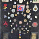 Stan 'Sonnie' Bissell medals board