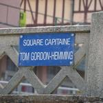 Square Capitaine Tom Gordon Hemming, Luc-sur-Mer, Normandy