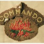 Commando insignia of Maurice Brown - attached to No.1 Cdo.
