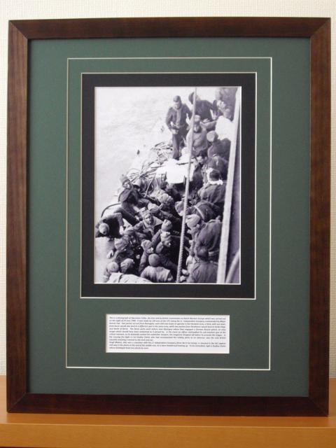 Photo of Operation Deepcut by 5 Troop No1 Commando on 28th Sep 1941 on the coast of N.France at St Vaast Bay.