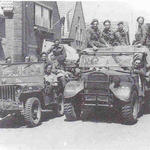 Dutch troop 1st reinforcement at Drimmelen (1)