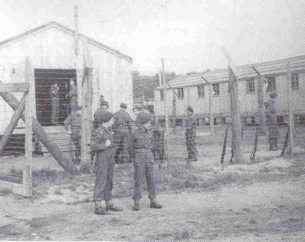 Dutch Commandos at Internment Camp 95 at Recklinghausen