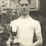 Jimmy Norton, King Edward VII Grammar School, King's Lynn Dennick Cup Winner, Gymnastics 1937