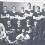 Stalag V111b Camp E361 - Rugby Team 1944