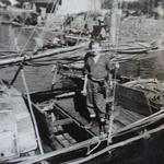 Mne Harvey 42RM Cdo., Sai Kung harbour 1945-46