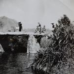RM Commandos at Sai Kung, Hong Kong local spot 1945-46