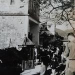 The harbour and former communist army battalion H.Q. ' Sai Kung',  Hong Kong 1945-46