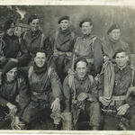 2 Brigade Signallers, James Murray (front 2nd left) and others