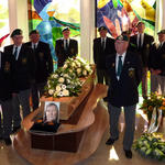 Funeral of Joannes Lodewijk Bouman 25th March 2014