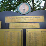 CVA WW2 Army Commando Memorial Roll of Honour, Alrewas