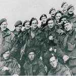 George Harris and others from No 4 Commando, Flushing 1944
