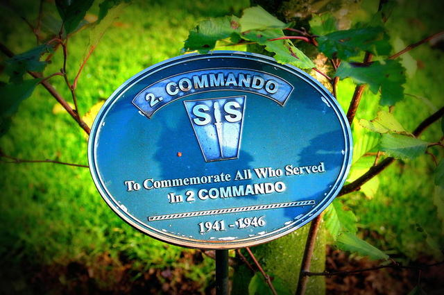 No 2 Commando Plaque Alrewas