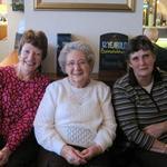 Helen Scott, Vera Bartholomew and Pam Spuffard