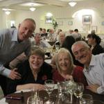 John and Sue Bale with Val and Keith Aldridge