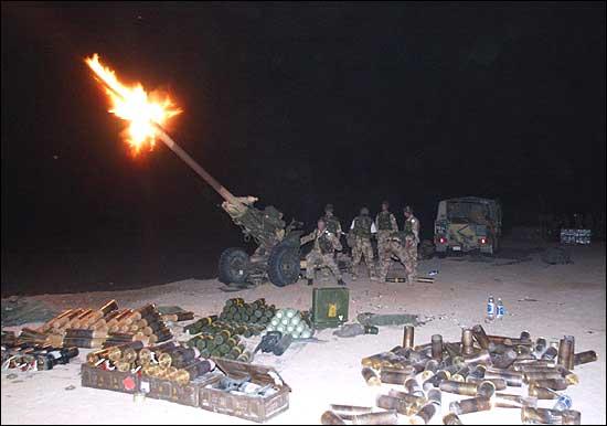 Commando gunners kuwait