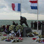 Memorial at Vlissingen (Flushing) 3rd November 2014