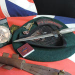 Commando items of Bob Donnison of No.5 Commando