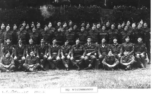No.3 Commando HQ Troop.
