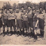 No 9 Cdo football team, Greece, November 1944