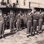 Greek VIPs and British officers, No 9 Cdo Drama November 1944