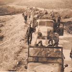 No 9 Commando 1 troop, en route Salonika-Drama November 1944