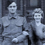 Sgt Denis Fuller wedding photo 1942