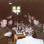 8 Commando Light Battery Bar, St George's Barracks Malta c.1976