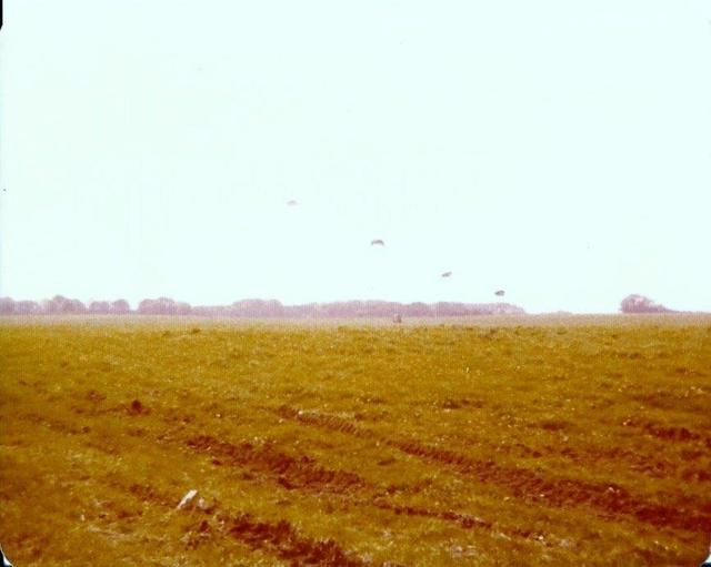 148 Commando Forward Observation Bty RA, Everleigh Drop Zone May 1979