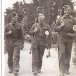 Dan, Titch, and Joseph Wells, Scarborough 1940