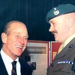 Prince Phillip and RSM George Forster, Corps' RSM and SBS